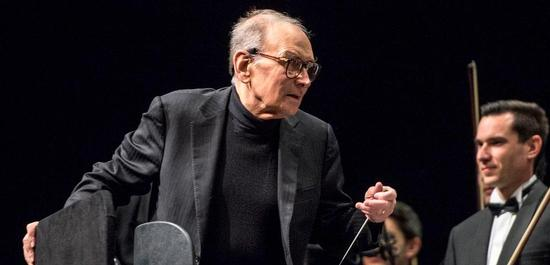 Komponist und Dirigent Ennio Morricone (2015), © Sven-Sebastian Sajak