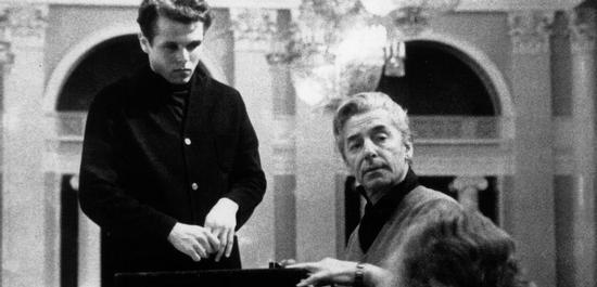 Mariss Jansons und Herbert von Karajan, © Mariss Jansons