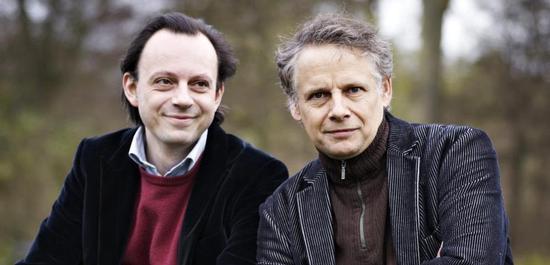 Die Preisträger 2019 Peter Wispelweij und Paolo Giacometti, © Brahms-Gesellschaft Schlesweig Holstein
