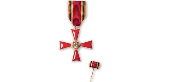 Verdienstkreuz am Bande, © Bundesrepublik Deutschland