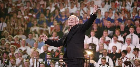 Komponist John Rutter, © johnrutter.com