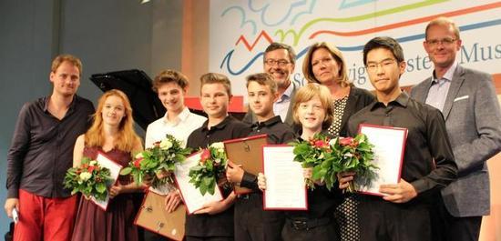 Verleihung des Förderpreises des Schleswig-Holstein-Musikfestivals, © SHMF
