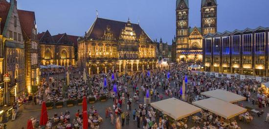 Eröffnungsveranstaltung auf dem Bremer Marktplatz, © Nikolai Wolff