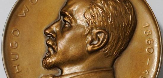 Hugo Wolf-Medaille, © Hugo Wolf Akademie
