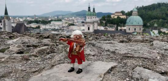Mozart Playmobil-Figur, Copyright: Internationale Stiftung Mozarteum