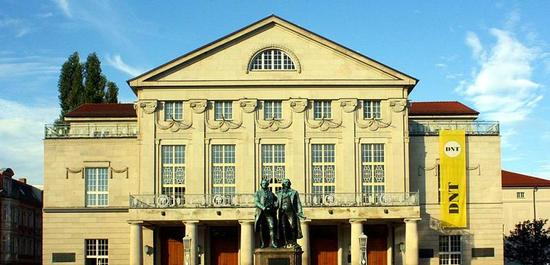 Deutsches Nationaltheater Weimar, © Lucas Friese