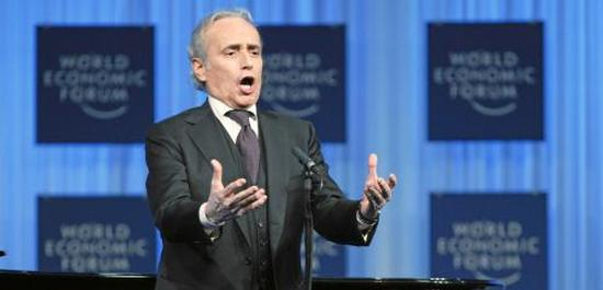 Jose Carreras (2011), © World Economic Forum