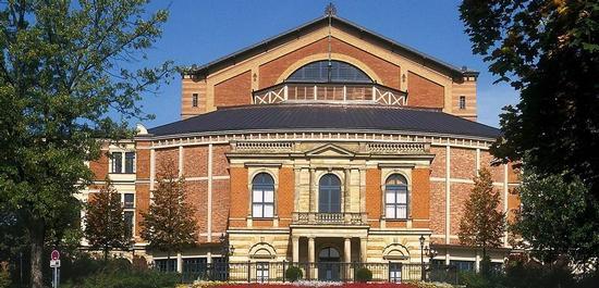 Richard-Wagner-Festspielhaus Bayreuth, © Lothar Spurzem