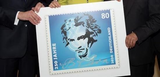 Beethoven Briefmarke 2020, © Deutsche Post AG
