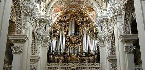 Orgel im Dom St. Stephan, Passau, © Tobi 87