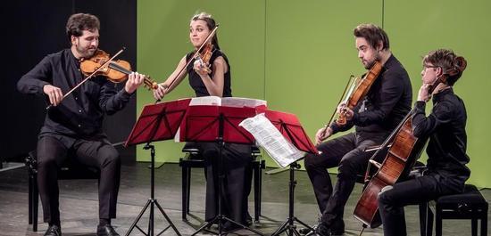 Adelphi Quartett, © Studio Visuell