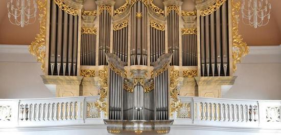 Mayer-Orgel in der Pfarrkirche Lisdorf, © Michael Büch