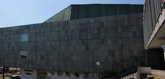 Nordseite des Konzertsaals des Kieler Schlosses (2015), © Rüdiger Stehn