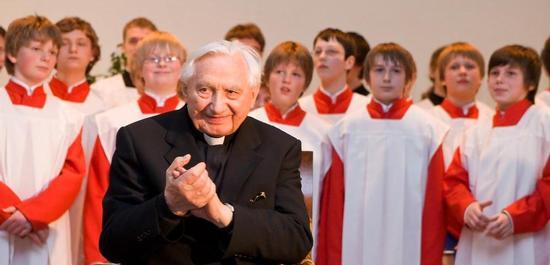 Georg Ratzinger, © Christine Eckert