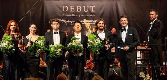 Die Finalisten 2018, © Debut Concerts