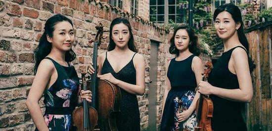 Esmé Quartett, © Shoo Kim
