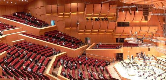 Philharmonie im Münchner Gasteig, © Andreas Praefcke