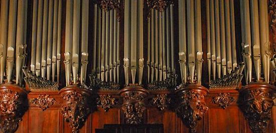 Orgel von Notre-Dame, © Eric Chan