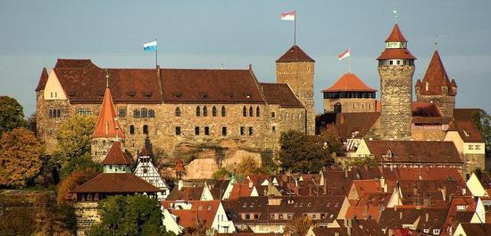 Nürnberg, Burg, © Dalibri