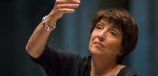 Die französische Dirigentin Françoise Lasserre, © Olivier Hoffschir