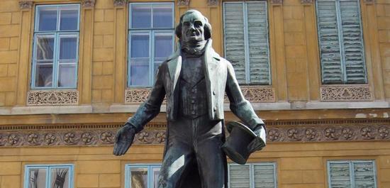 Nestroy-Denkmal Wien, © Invisigoth67