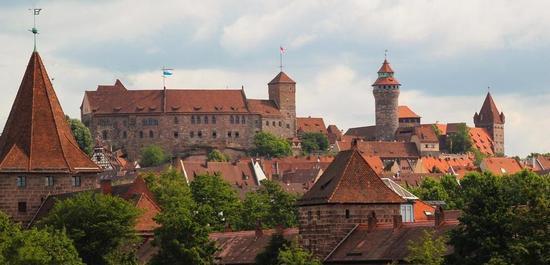 Ansicht der Nürnberger Burg, © Gellinger / pixabay