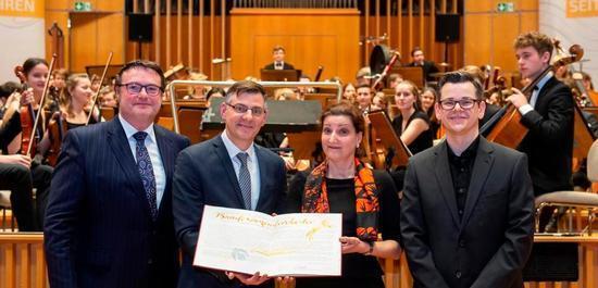 Im vergangenen Jahr wurde das Bundesjugendorchester ausgezeichnet, © Barbara Frommann