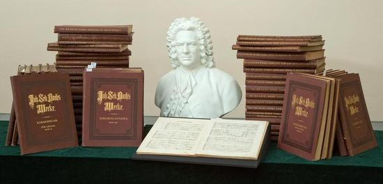 Bach-Gesamtausgabe aus dem Besitz Gustav Mahlers, © Gert Mothes
