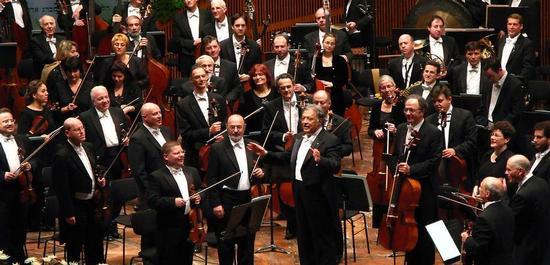 Israel Philharmonic Orchestra unter Zubin Mehta (2006), © Yeugene