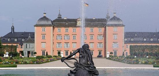 Schloß Schwetzingen, © Berthold Werner