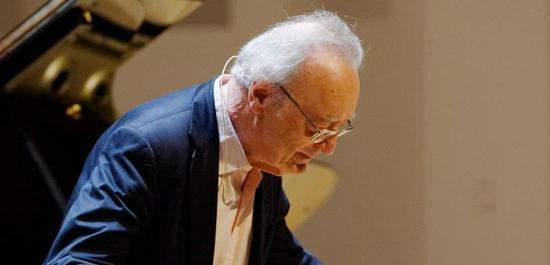 Alfred Brendel beim Klavierfestival Ruhr, © Mark Wohlrab