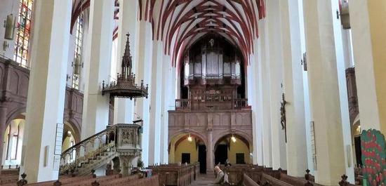 Sauer-Orgel, Thomaskirche Leipzig, © Klaus Bärwinkel