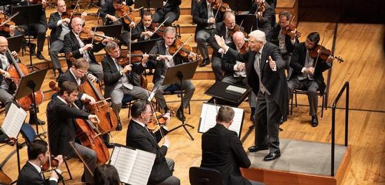 Wiener Philharmoniker unter Herbert Blomstedt, © Manuela Jans