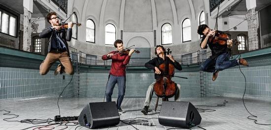 Vision String Quartet, © Tim Klöcker