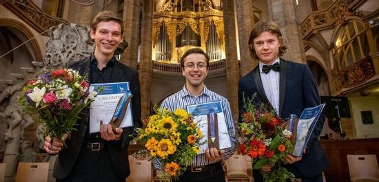 Die Preisträger Friederich, Torres, Heindl, © Detlev Müller