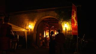 Abendstimmung Zehntscheune, Foto: Christina Liefke