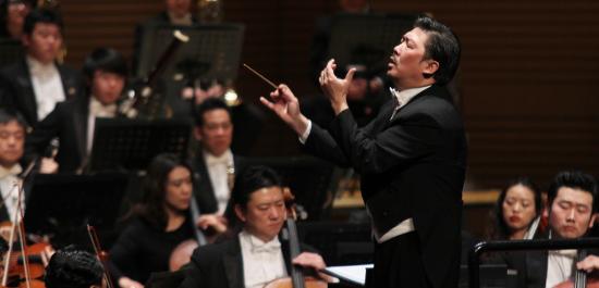Maestro Long Yu und das China Philharmonic Orchestra