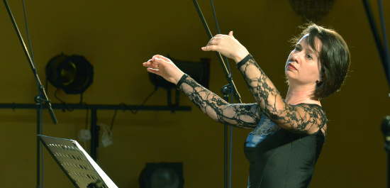 Olga Selesnjowa, Dirigentin des Tscheljabinsker Kammerchores
