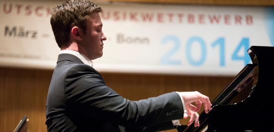 Der Preisträger des DMW 2014, Frank Dupree, Foto: DMW/Frommann