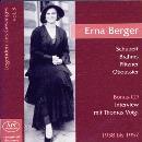 Erna Berger singt Lieder von: Schubert, Brahms u.a