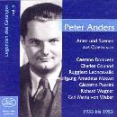 Peter Anders singt: Arien und Szenen von Donizetti, Gounod u.a