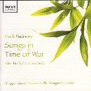 Mark Padmore - Songs in Time of War