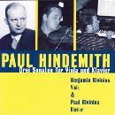 Hindemith, Paul: Sonaten für Viola & Klavier