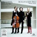 Boulanger Trio spielt: Klaviertrios von  Rihm, Robert & Clara Schumann