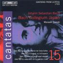 Bach, Johann Sebastian: Cantatas 15