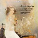 Details zu Pregardien, Christoph singt: Orchesterlieder von Mahler & Rihm