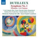 Dutilleux, Henri: Symphony No. 1: Orchestre National de Lille, Jean-Claude Casadesus