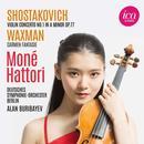 Detailinformationen und Hörproben zu Werke von Shostakovich, Waxman: Moné Hattori, Deutsches Symphonie-Orchester Berlin, Alan Buribayev