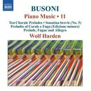 Details zu Busoni, Ferruccio: Piano Music Vol.11: Wolf Harden, Klavier
