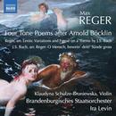 Details zu Max Reger / Johann Sebastian Bach: Klaudyna Schulze-Broniewska, Brandenburgisches Staatsorchester, Ira Levin